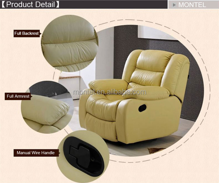 modern living room electric recliner sofa chair