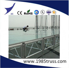 Customized Plywood Aluminum Stage for outdoor events
