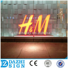 Guangdong direct manufacturer Long lifespan illuminated acrylic letter for advertising