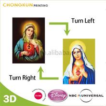 NBCU Audit Factory Custom 3D Lenticular Picture, 3D Lenticular Poster