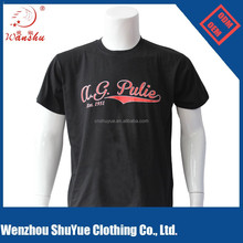 China OEM cheap custom logo O-neck cotton/polyester tshirt manufacturers