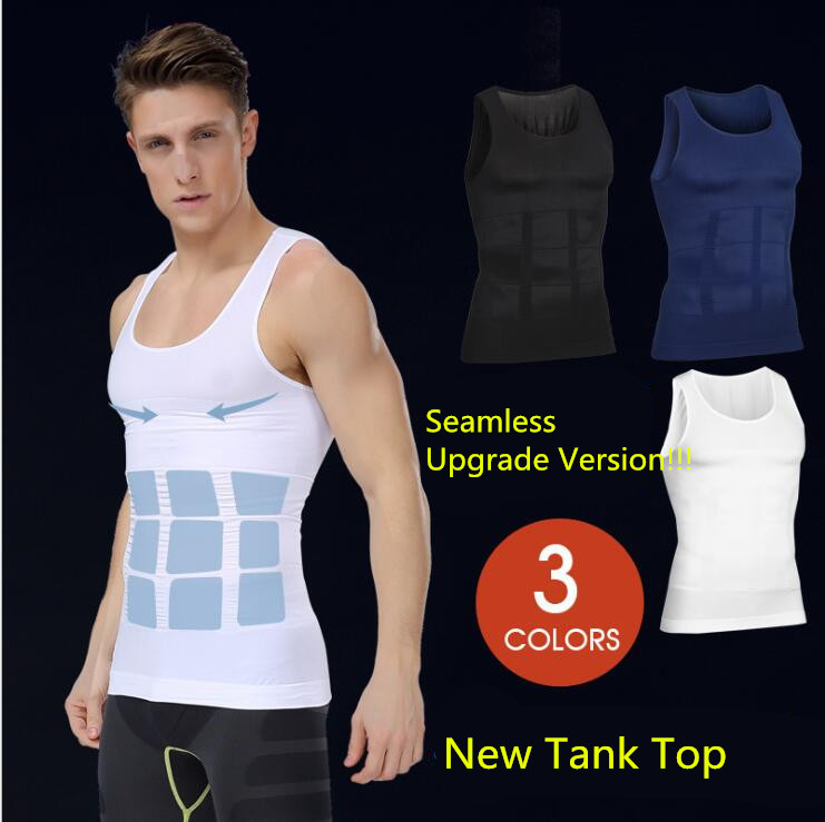 Men's Cool Sport Compression Under Base Layer Athletic Muscle Tank Top