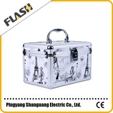 Popular High Quality Hot Sale Aluminum Box Manufacturer Makeup Box and Cosmetic Case