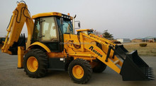 High quality 388E long boom extender backhoe
