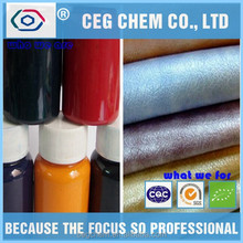 chemical factory provide leather producer colors in liquid shape to tint pu