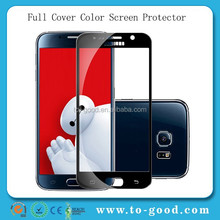 Full Cover Protecitve Film For Samsung Galaxy S6 Tempered Glass Screen Protector