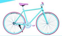 Factory direct sales fixed bike /bike fixed decorations/fixed gear bike aero spoke wheel