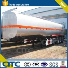 2015 hot selling in Africa market 3 axles 30-50tons fuel tank trailer / fuel tank semi trailer trucks for sale