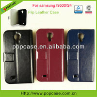 [2013 Best Selling Product] Flip case for samsung galaxy s4 I9500