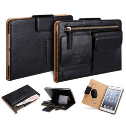 Multifunctional Business Style Leather Case for IPad Mini 2