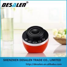 Hot new products big sound music Portable USB interface mini bluetooth speaker