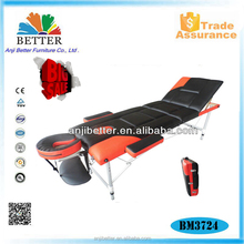 Mix colour Aluminium portable massage table facial beds