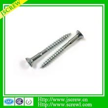6 ribs under head custom screw, Pozi Flat head Chipboard screw