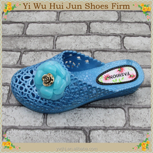 Golden Wedges Sandals For Woman Summer Cheap Price Cotton Slippers For Women