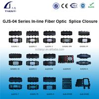 FOSC GJS(04) Series Max 288 Cores Horizontal in-line Fiber Optic Cable Splice Closure