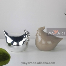 Lovely Ceramic Chickens and Roosters for Ceramic Chicken Decoration