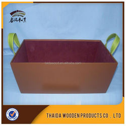 Wood Box/Portable Storage Container