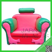 Safety leather small children sofa bed, kids sofa