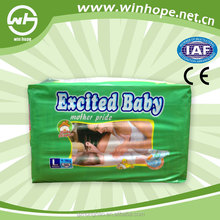 winhope good quality exicted baby take good care of baby sleepy thick baby diapers disposable