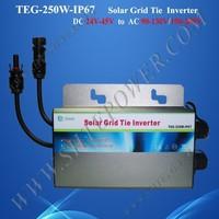 Smart micro converter 24v pv micro inverter 250w