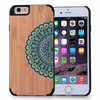 2015 Latest fashion design Hot Sale Real Wood for iPhone 6 Case, For iPhone 6 Case Wooden custom printing
