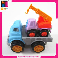 cheap beach car toy plastic toy trucks with small truck