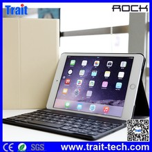Rock Bluetooth Keyboard Leather Case Cover For iPad Mini 3