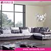 2015 new arrival living room Sofa Cloth furniture l-shape corner fancy sofa set