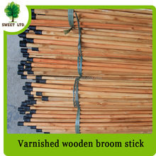 110cm length broom and mop handle with eucalyotus wood material