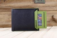 manufacturer cheap pu man wallet