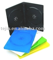 PP 14mm black double dvd cases with recycle