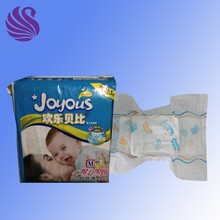 PE Film Material and Printed Feature disposable baby diapers