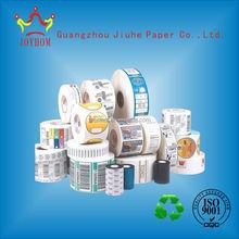 Cheap custom self adhesive sticker/adhesive label paper