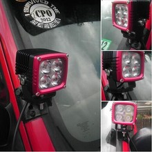 Compare high lumen 5730 led double brighter than 5050 LED offroad driving light, LED work lamp for offroad LED work light
