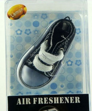 2015 newest hanging blue shoe car air freshener/air freshner/air fresher