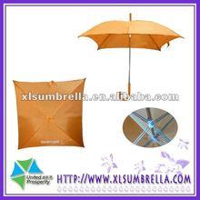 Promotional rain waterproof patio square umbrellas