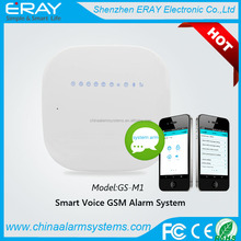Wireless Intruder Security GSM Home Alarm System with APP control for house safety and burglar alarm
