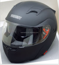 full face motorcycle helmets flip up two visor helmet