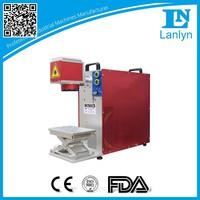 High Quality Fiber Metal Barcode Laser Marking Machine