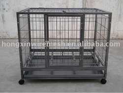 export strong stainless steel dog cage