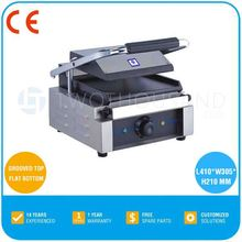 Panini Griddle - CE, One Head, Grooved Top And Flat Bottom, TT-WE173B