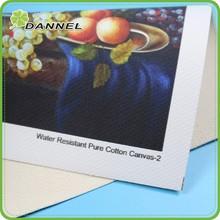 """37"""" Oem indoor pigment waterproof pure cotton canvas"""