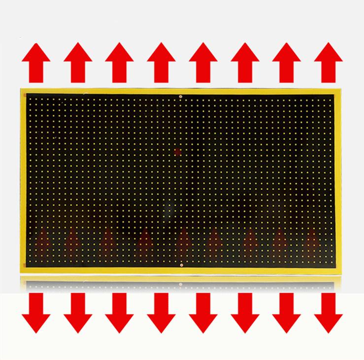 ce rohs tanche mur cristal de carbone lectrique infrarouge radiateurs radiateur lectrique id. Black Bedroom Furniture Sets. Home Design Ideas