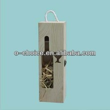New Arrival Antique Wooden Wine Carrier For Sale
