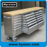 96 inch heavy duty husky rolling stainless steel tool box