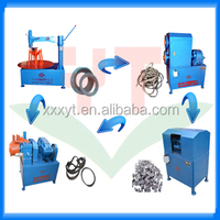 used car rims and tires recycling machine/scrap tyres in uae/wasted tire cutting equipment