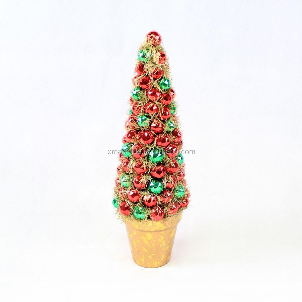 Christmas Balls Tree With Tinsel - Buy Christmas Balls Tree With ...