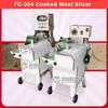 FC-304 cooked beef jerky grain dicing machine beef dicer