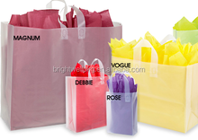 Forsted Clear Retail Shopping Bag