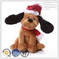 2015 hottest plush doll inflatable dog plush toy